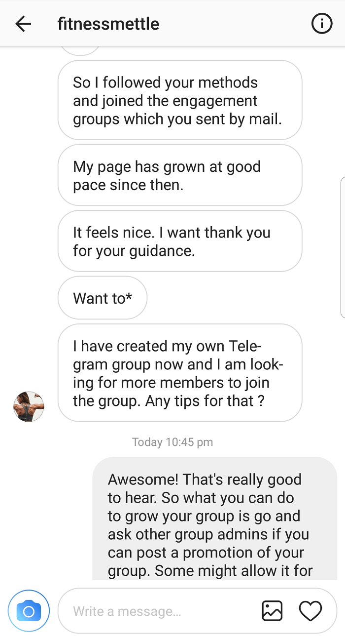 Instagram Success Stories
