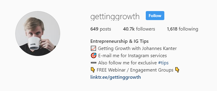 GettingGrowth Instagram